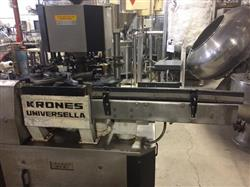 Image KRONES Universella Rotary Cold Glue Labeler 797899