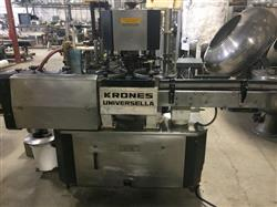 Image KRONES Universella Rotary Cold Glue Labeler 797900