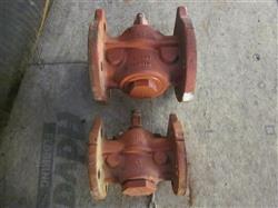 "Image 3"" RESUN 200 WOG (Flanged) Cast Iron Lubricated Plug Valve  549119"