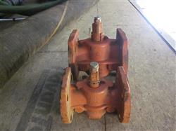 "Image 3"" RESUN 200 WOG (Flanged) Cast Iron Lubricated Plug Valve  549120"