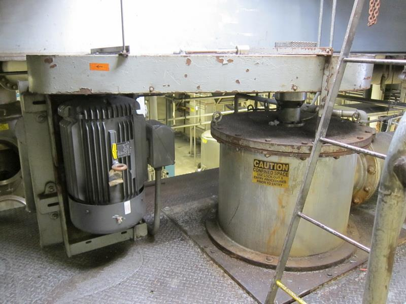 "35 SF Wiped Film Evaporator (WFE) ""Turba-Film Processor"""