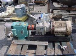"194446 - 2.5"" WAUKESHA CHERRY BURRELL 60 Jacketed Displacement Pump - Stainless Steel"