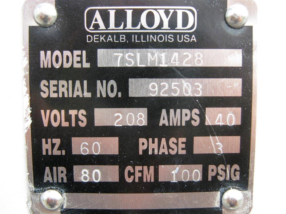 Image ALLOYD 7SLM1428 Thermoformer 556650