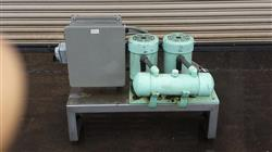 194512 - (2) CAM VAC 1510 Vacuum Pumps with Controls