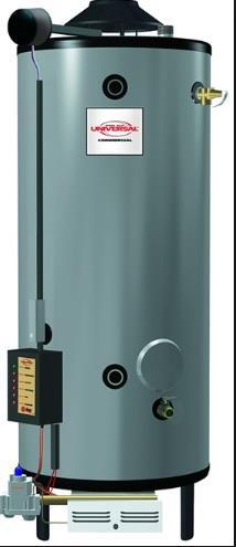 RHEEM RHUDD G85-400 NG Commercial Water Tank