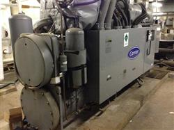 196292 - 265 Ton CARRIER Screw Type Chiller Equipped with (3) Compressors