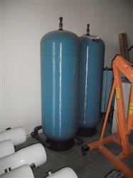 196691 - 120 Gallons PENTAIR CT-120 Blue Water Retention Tanks (Lot of 2)