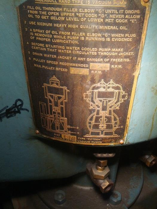 Image AMERICAN Canco 08 Vacuum Can Seamer and Pump 657091
