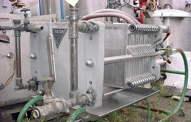 "15"" X 15"" CARLSON Stainless Steel Plate & Frame Filter Press"
