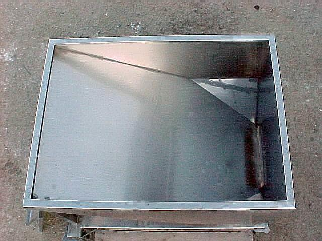 Image 14.5 Cubic Feet 108 Gallon Stainless Steel Tote on Wheels 561769