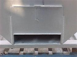 Image 14.5 Cubic Feet 108 Gallon Stainless Steel Tote on Wheels 561772