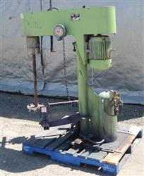 196804 - 10 HP SCHOLD  Mixer Disperser, Variable Speed Explosion Proof
