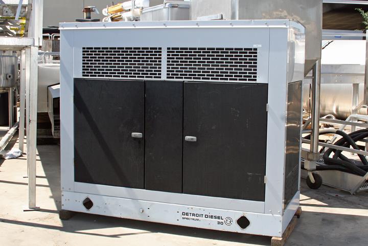 DETROIT Diesel Spectrum 30 KW Natural Gas Powered Generator