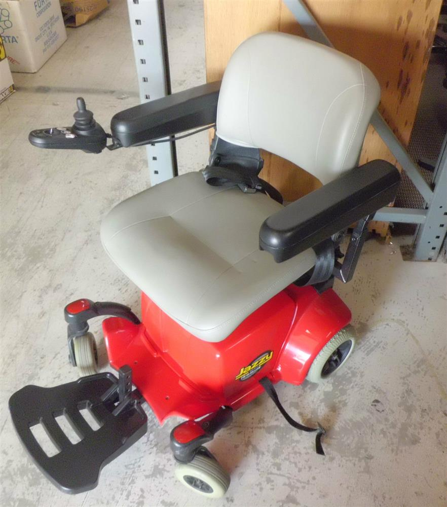 JAZZY SELECT Traveller Power Electric Wheelchair