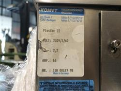 198138 - KOMET PlusVac 22 Vacuum Packaging Machine