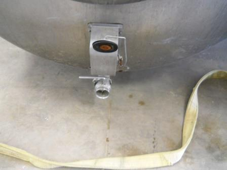 Image 600 Gallon ZERO 627-10 Dome Top Bulk Tank 571722