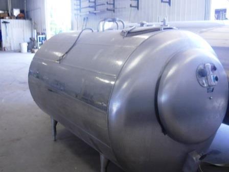 Image 600 Gallon ZERO 627-10 Dome Top Bulk Tank 571723