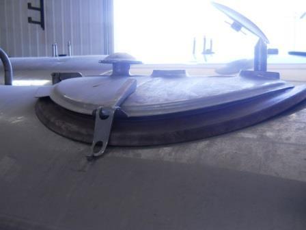 Image 600 Gallon ZERO 627-10 Dome Top Bulk Tank 571724