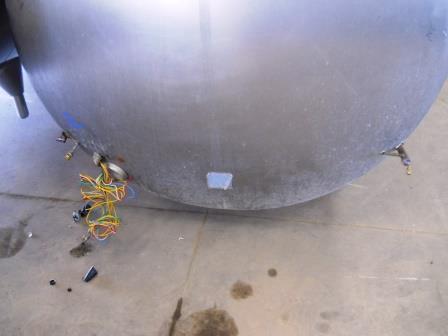 Image 600 Gallon ZERO 627-10 Dome Top Bulk Tank 571725