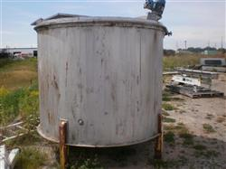 200256 - 1300 Gallon Stainless Steel Vertical Mixing Tank
