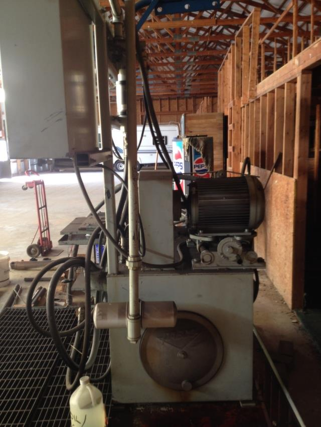 20 Hp Hydraulic Pump Test S 200285 For Sale Used