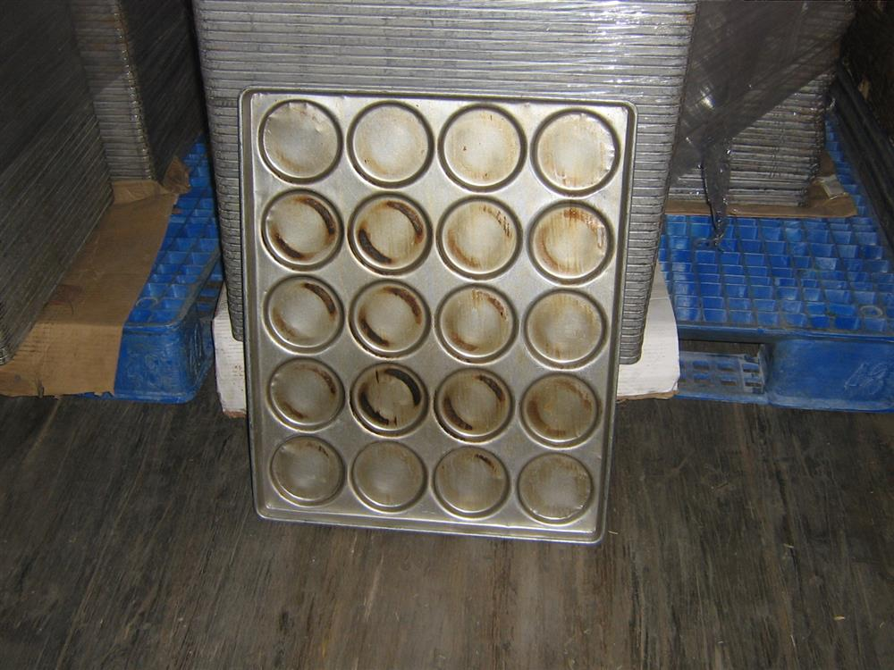 4.75in Hamburger Bun Pans (Lot of 100)