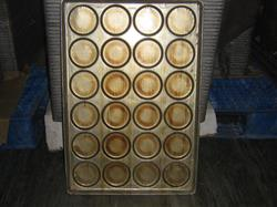 "200288 - 4.25"" Hamburger Bun Pans (Lot of 100)"