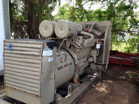 Image 600 KW CUMMINS 680 FDR 712 8HH Generator 579951