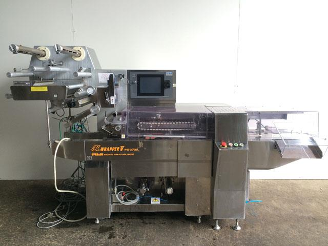 Image FUJI FW3700 Stainless High Speed Flow Wrapper 579957