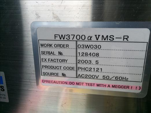 Image FUJI FW3700 Stainless High Speed Flow Wrapper 876582