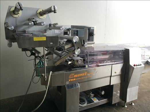 Image FUJI FW3700 Stainless High Speed Flow Wrapper 876585