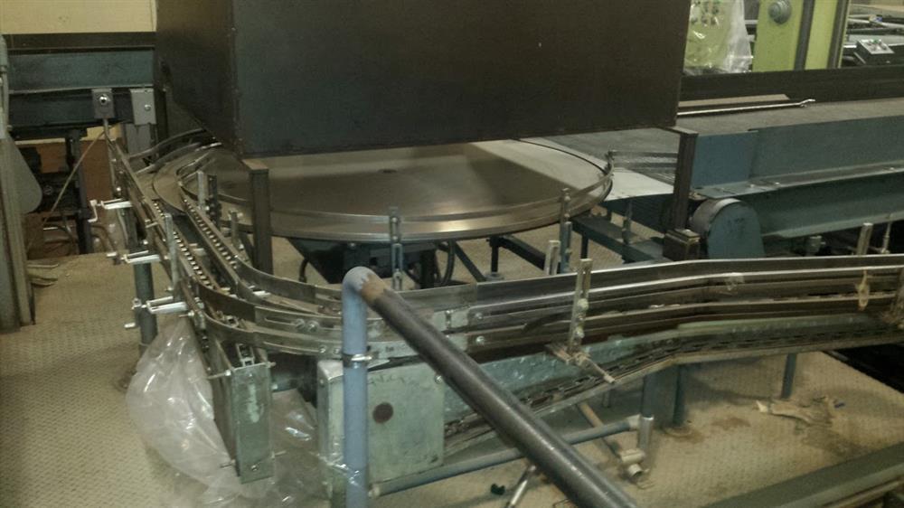 CANCO 608-I-HUL Depalletizer System