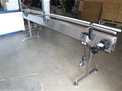 "201386 - 10' X 4 1/2"" Stainless Steel Table Top Belt Conveyor, 115 Volt"