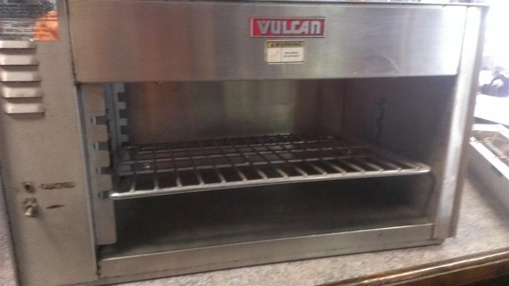 "Image 27"" VULCAN Cheese Melter 591206"