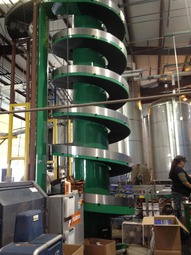 Spiral Case Conveyor
