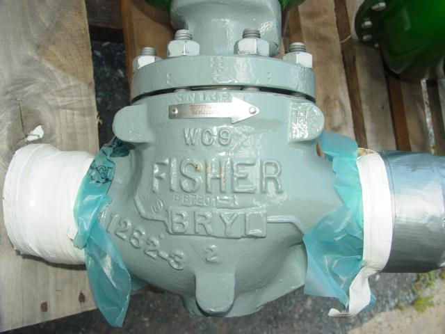 FISHER EZ Control Valve Siz - 203467 For Sale Used