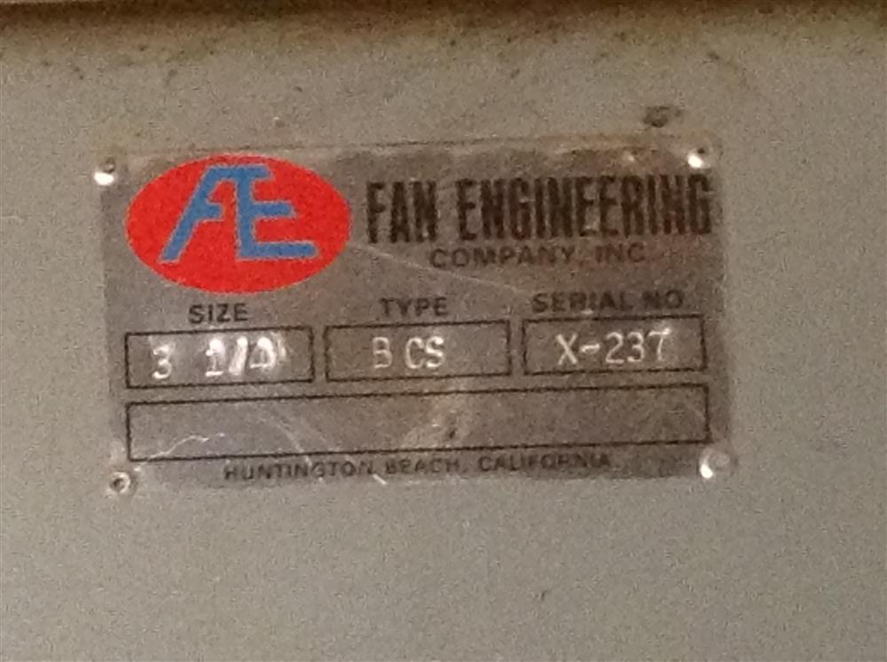 Image FAN ENGINEERING Model 54-HPH Dust Collector 596242