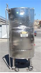 204503 - 1000 Liter STAINLESS TECHNOLOGY Jacketed Bag Holding Vessel