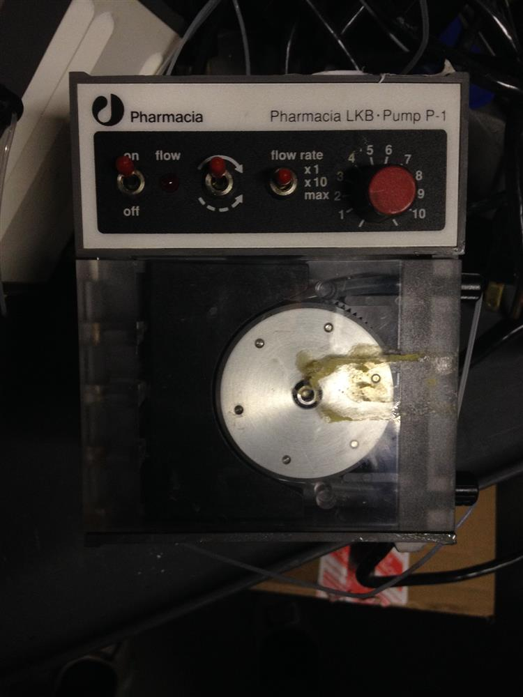 PHARMACIA LKB PUMP P-1 Peristaltic Pump