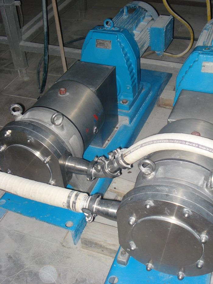APV-HORSENS DW5 316 Stainless Steel Positive Displacement Pump