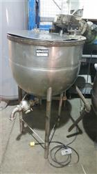 205417 -  Jacketed Stainless Steel Tank with Electric Mixer