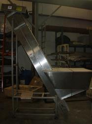"205451 - 11.5"" X 104"" CIS CONFAB SYSTEMS Stainless Steel Elevator"