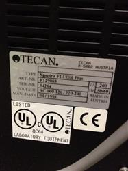 205702 -  TECAN SPECTRA FLUORPLUS Control For Absorbance and Fluorescence Instrument