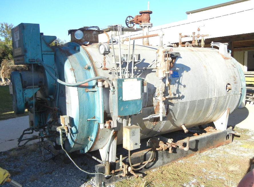 Used Water Tanks For Sale >> CLEAVER BROOKS Model CB-200 - 207926 For Sale Used