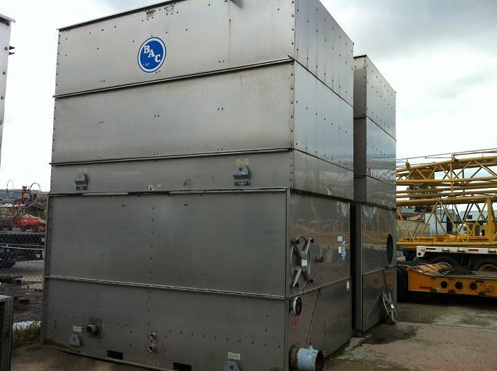 Stainless Steel Towers : Ton bac stainless steel for sale used