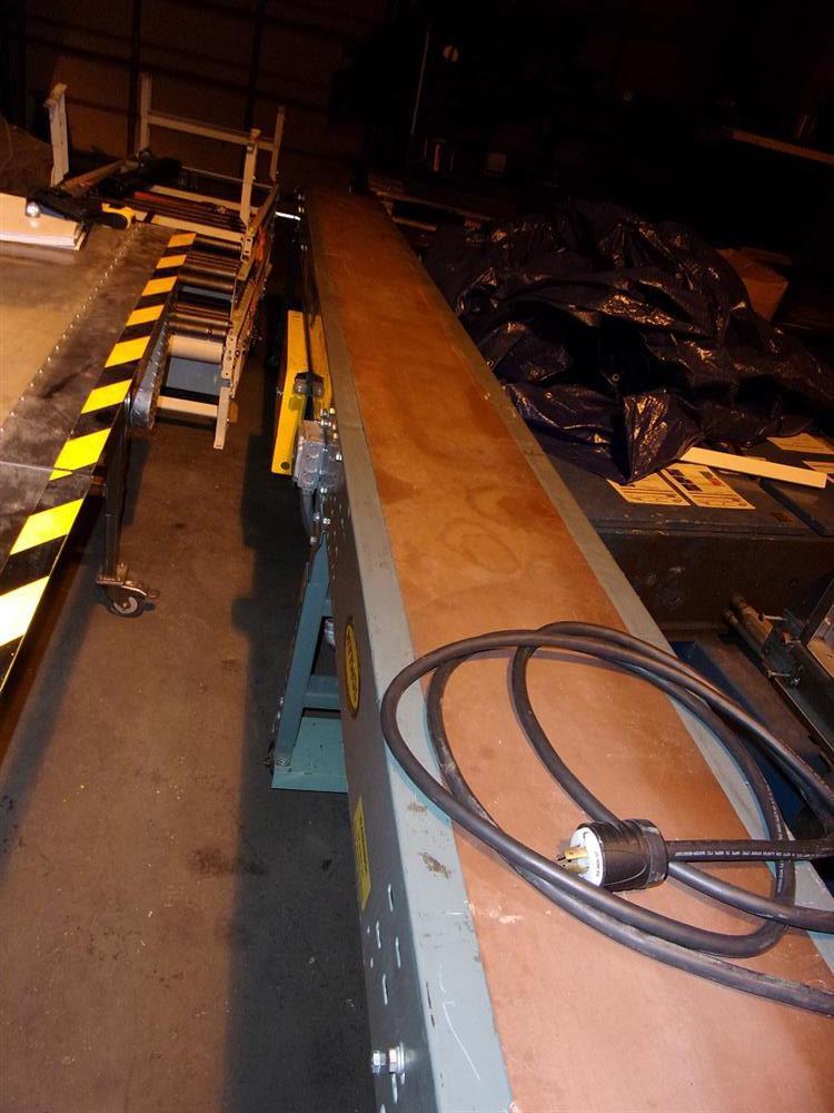 "15""L x 12"" W HYTROL Slider Belt Conveyor"