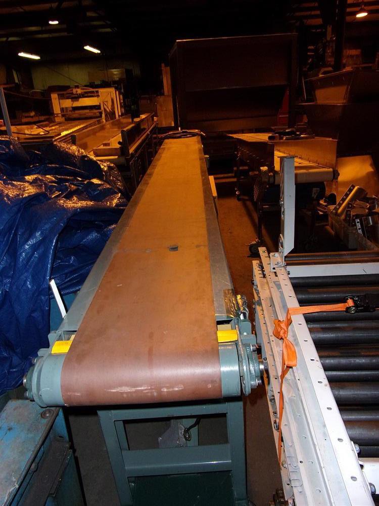 "Image 15""L x 12"" W HYTROL Slider Belt Conveyor  612744"