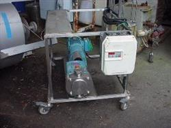 "208538 - 2"" G & H Model 532 Stainless Steel Sanitary Displacement Pump"