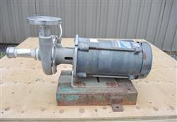 "208591 - 1.25"" X 1"" PRICE PUMPS Model CD100SS 316 Stainless Steel Centrifugal Pump"