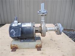 "208594 - 1.25"" X 1"" PRICE PUMPS Model CD100SS 316 Stainless Steel Centrifugal Pump"